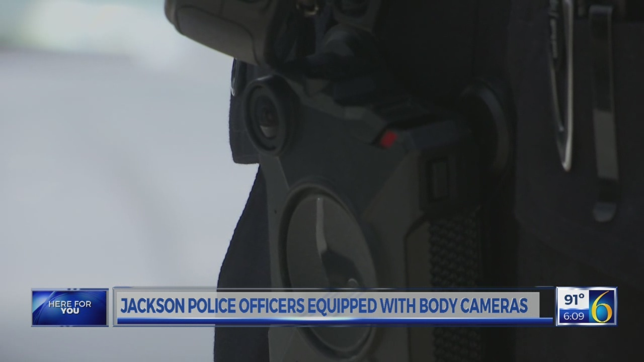 Jackson body cams