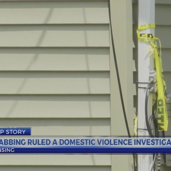 Lansing stabbing ruled as domestic violence homicide investigation