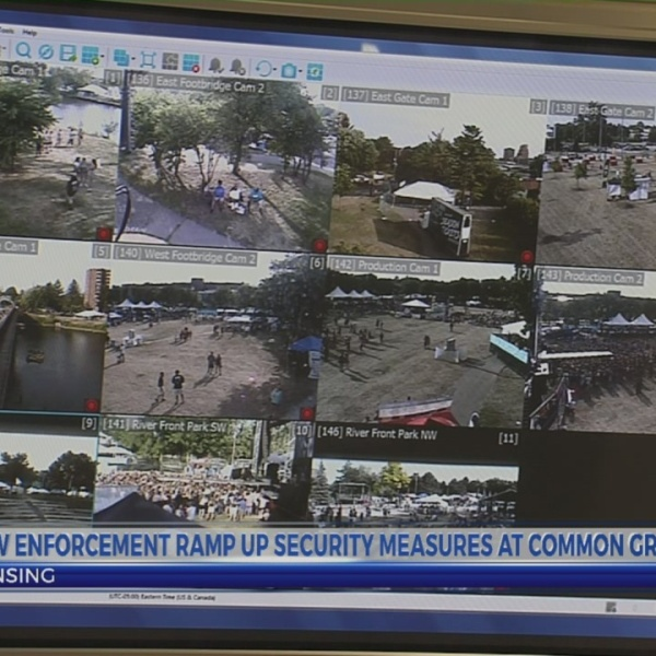 Law enforcement ramp up security at Common Ground