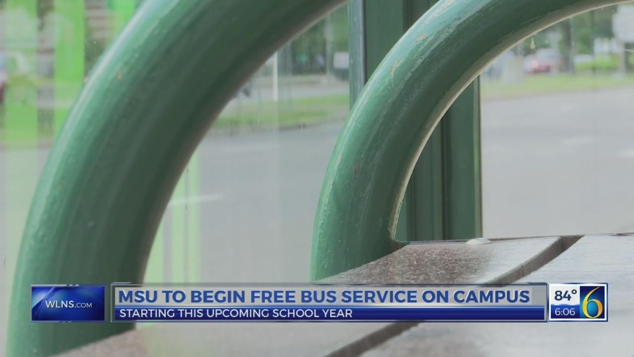 MSU begins free bus service