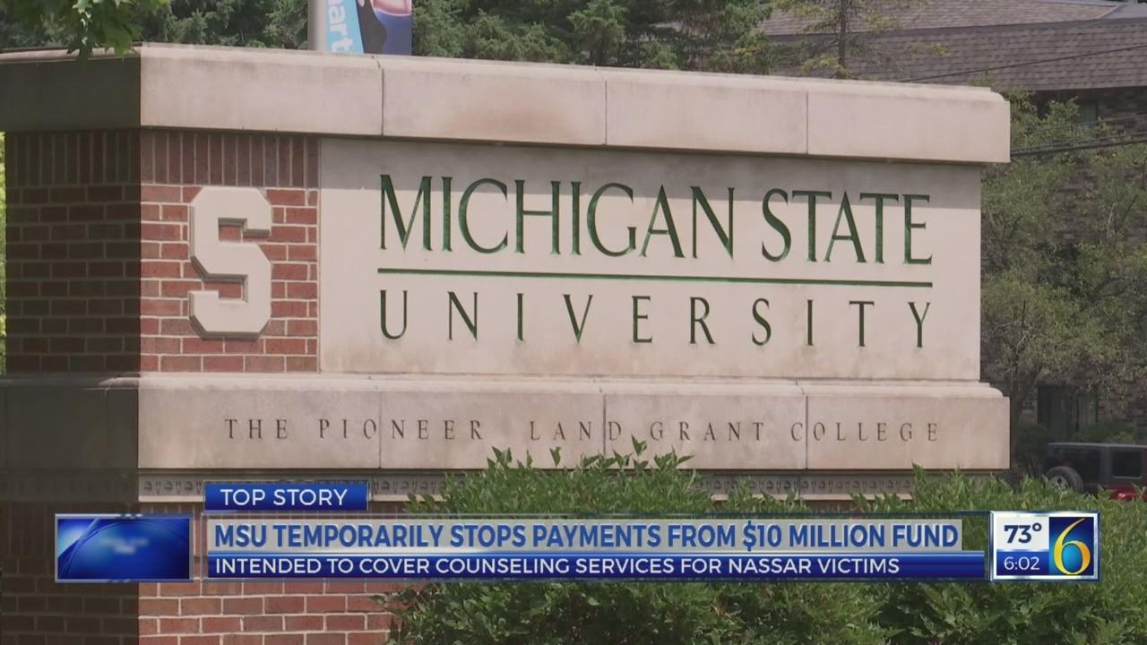 MSU victim fund