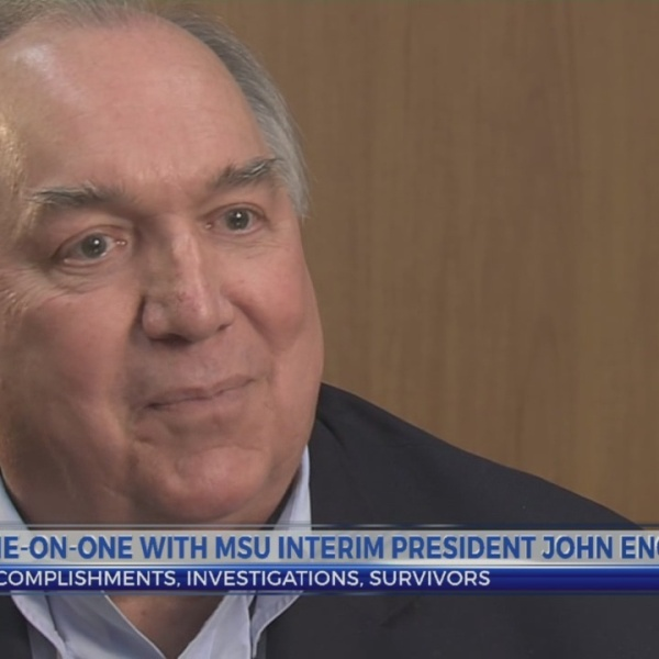 One-on-one with MSU Interim President Engler: Political connections