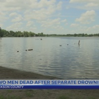 Two men dead after separate drownings in Jackson County