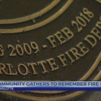 6 News This Morning: Charlotte Fire Dog