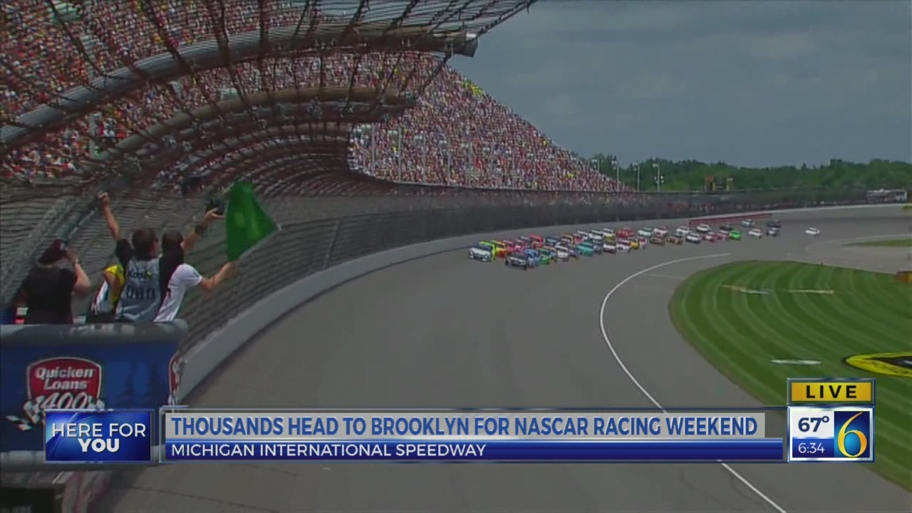 6 News This Morning: MIS NASCAR