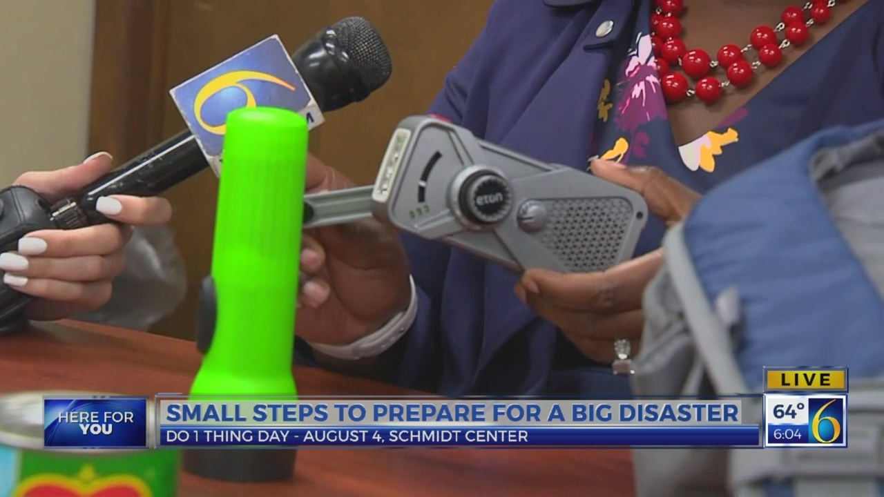 6 News This Morning: disaster preparedness