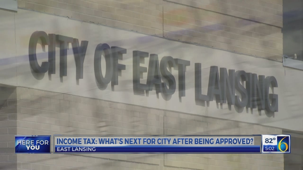 East Lansing income tax: what's next now that its passed