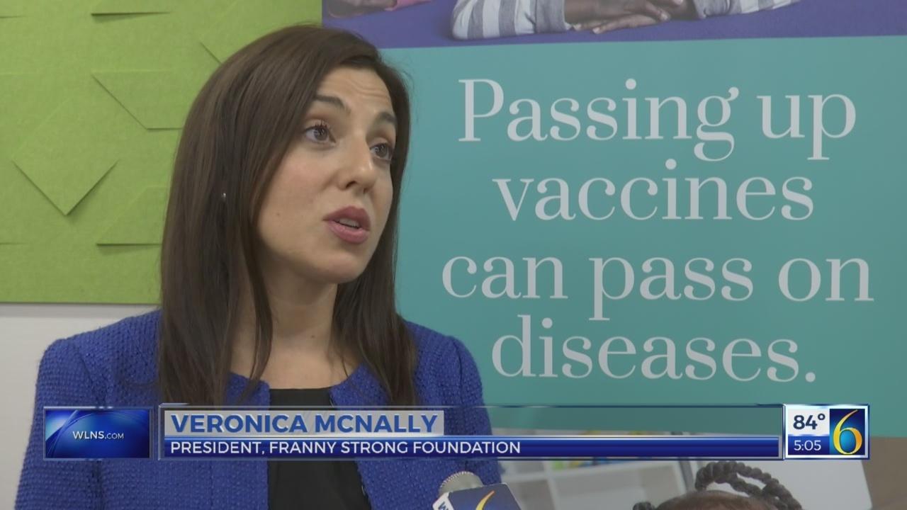 Health officials push immunizations before school year