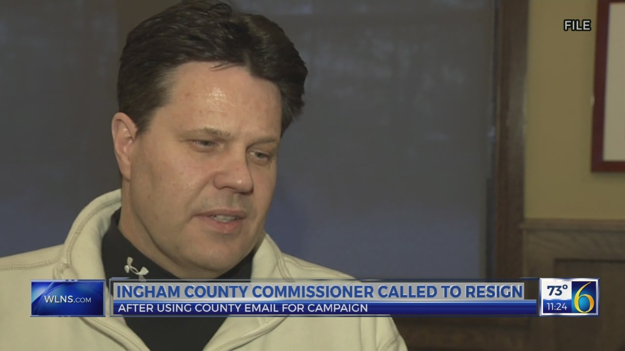 Ingham County Commissioner in hot seat after using county email for campaign