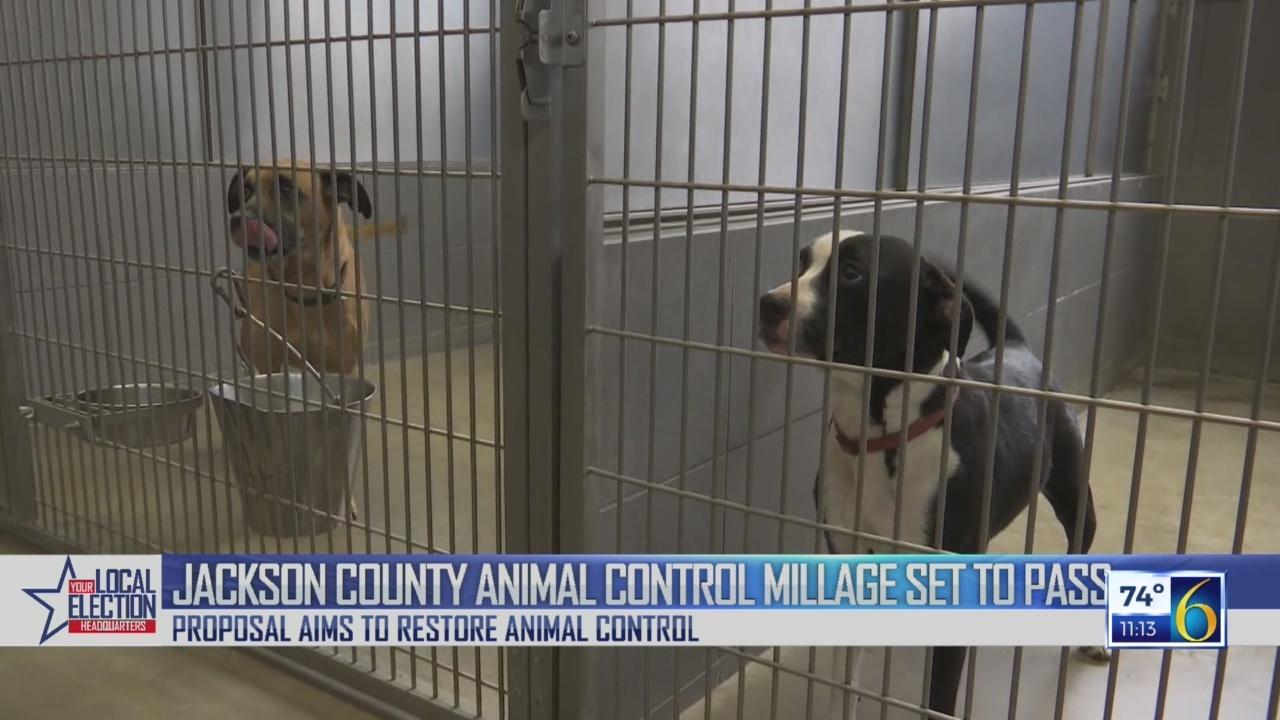 Jackson Animal Control Millage Passes