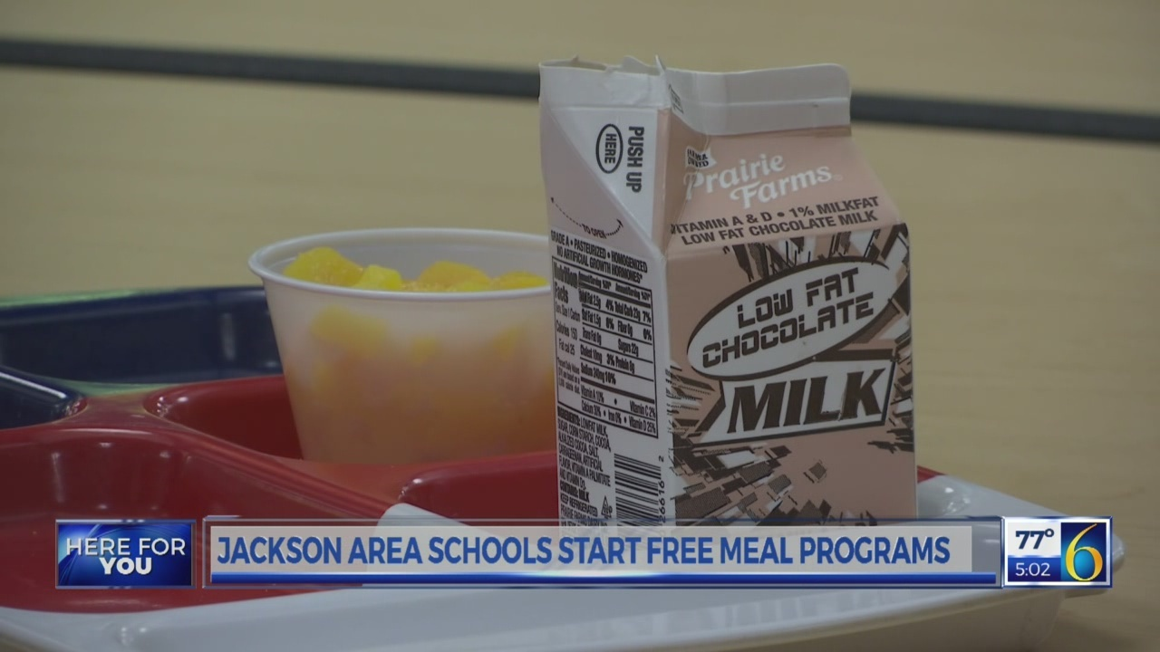 Jackson Area Schools Free Meals