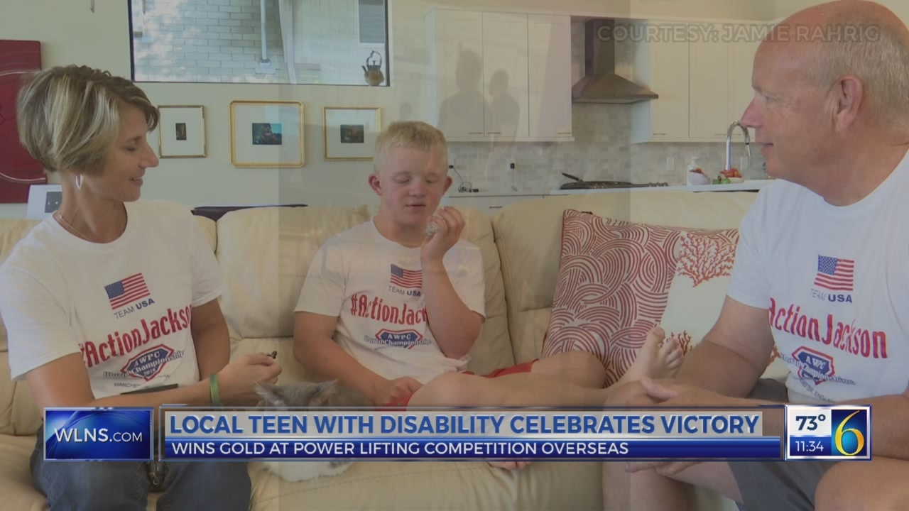 Local teen with disability celebrates victory