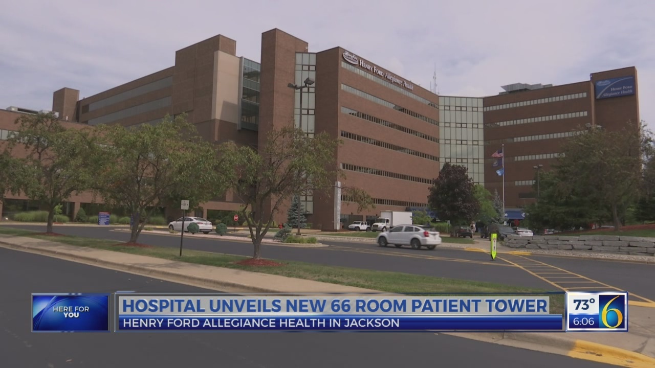 New hospital addition in Jackson