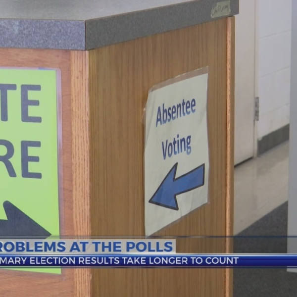 Problems at the polls
