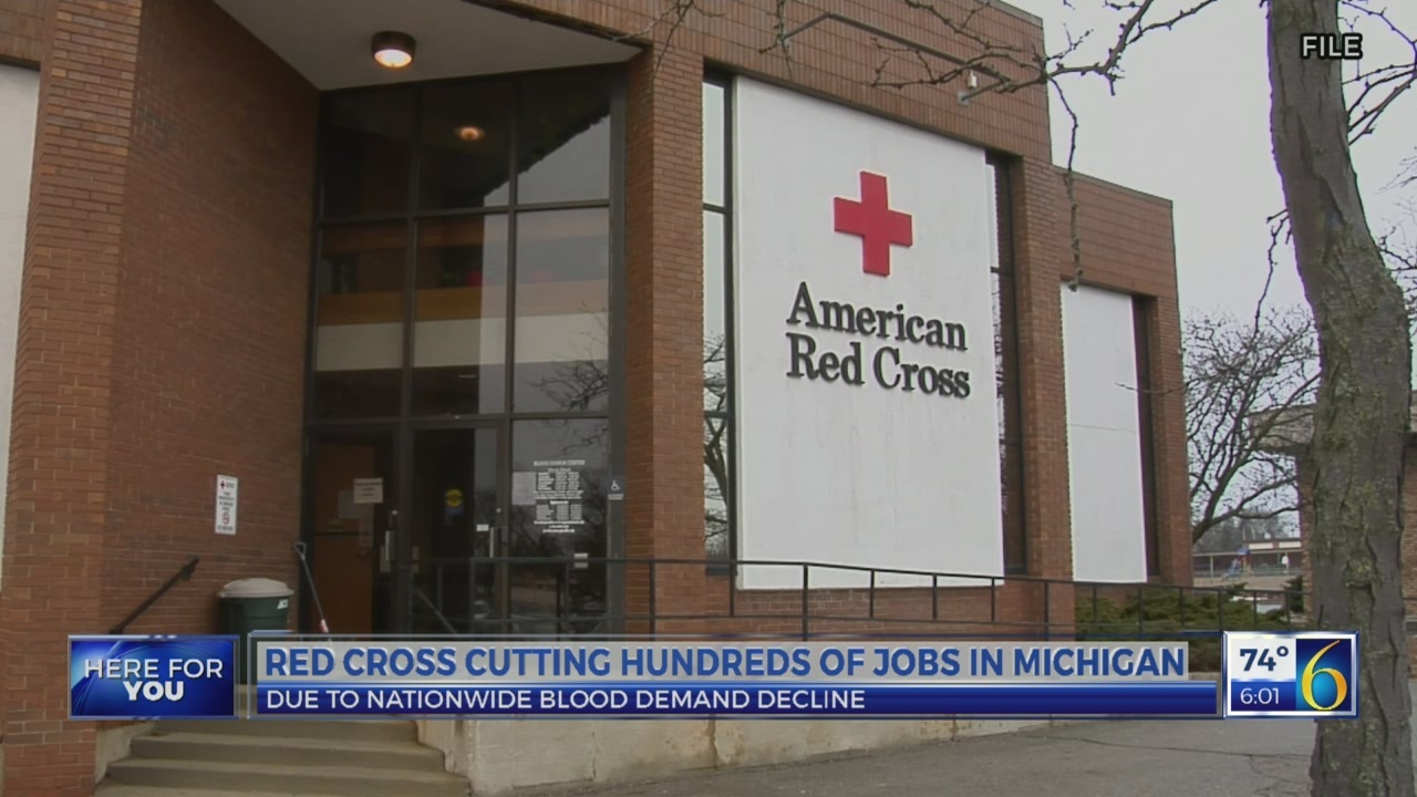 Red Cross cutting hundreds of jobs in Michigan