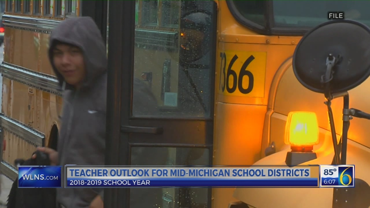 Teacher outlook for Mid-Michigan school districts