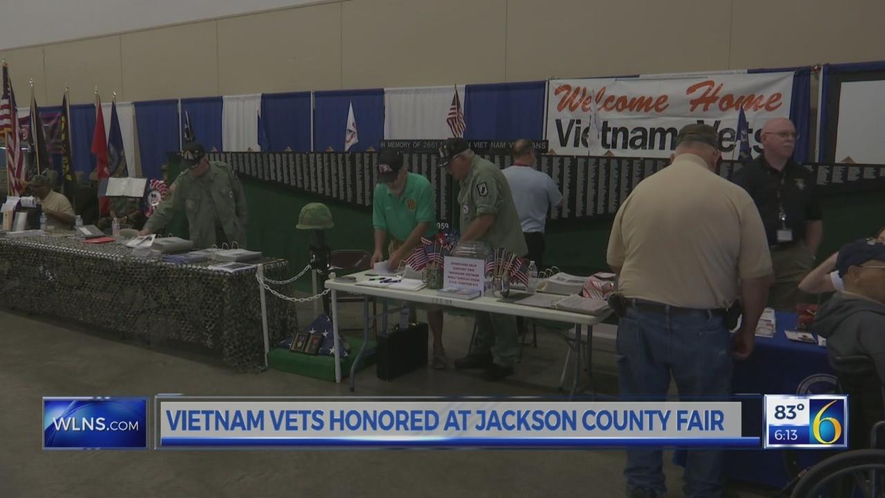 Vietnam veterans honored at Jackson County Fair