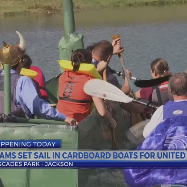 6 News This Morning: cardboard boat races