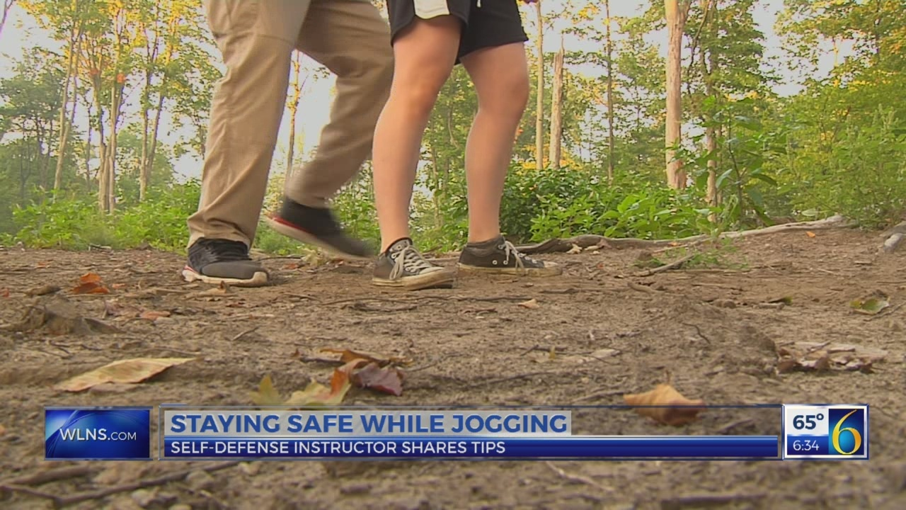 6 News This Morning: jogging safety 2