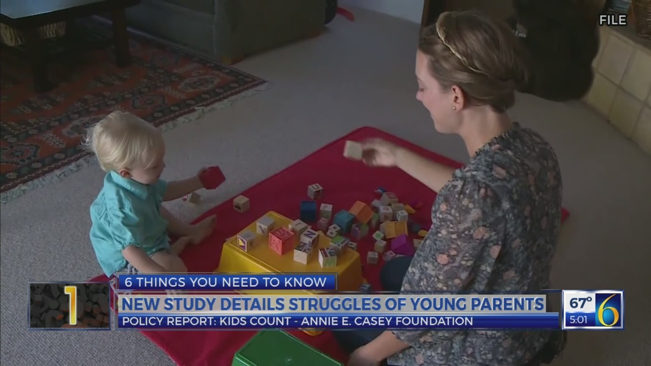 6 News at 5:00 p.m.: kids count study