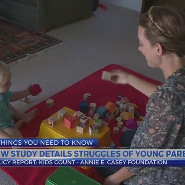 6 News at 5:00 p.m.: kids count study