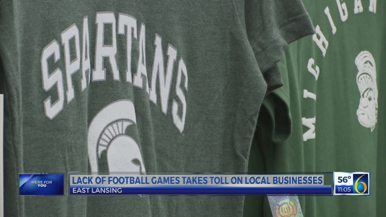 Lack of football games takes toll on local businesses