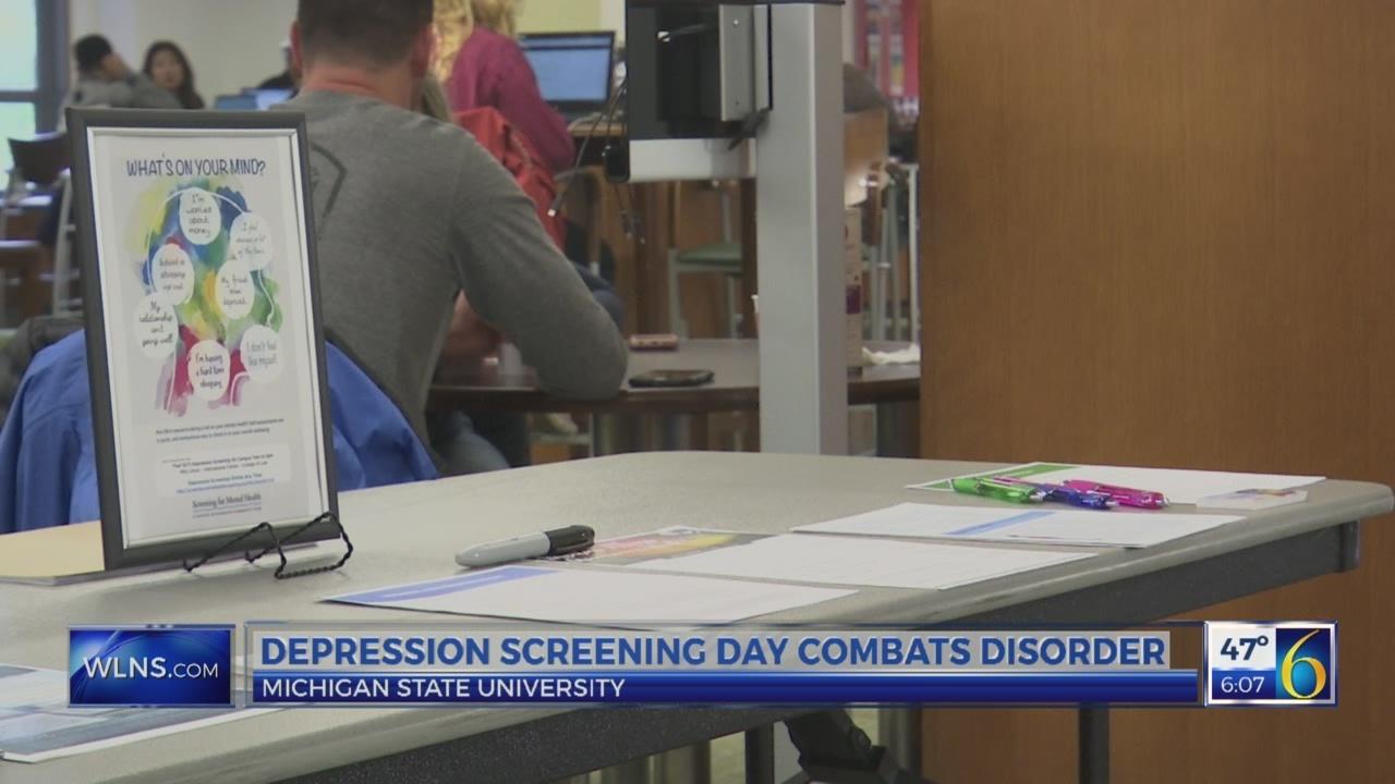 Depression screening day combats disorder