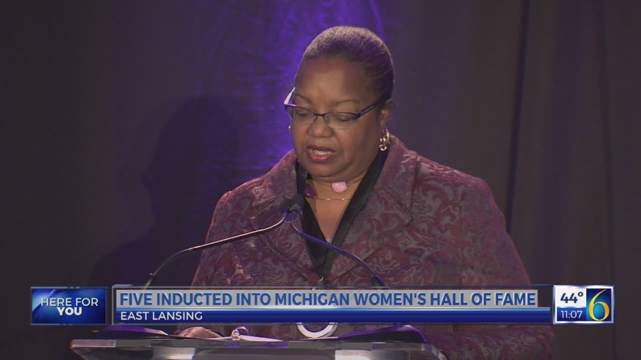 Five inducted into Michigan Women's Hall of Fame