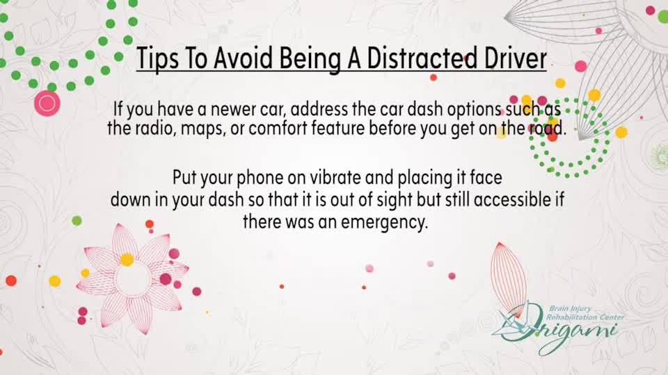 My Peace of Mind | Distracted Drivers