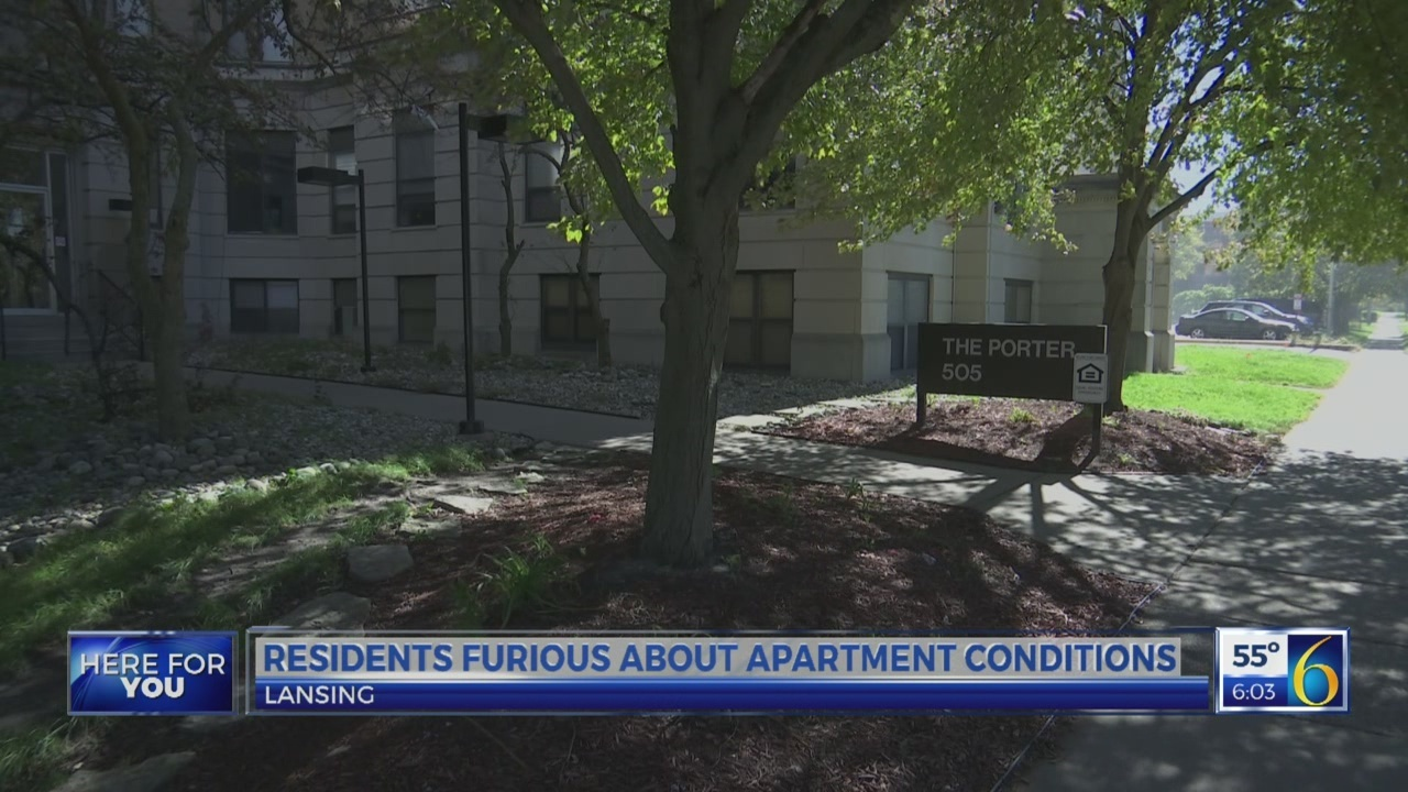 Renters furious about apartment complex living conditions