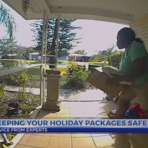 6 News This Morning: keeping holiday packages safe