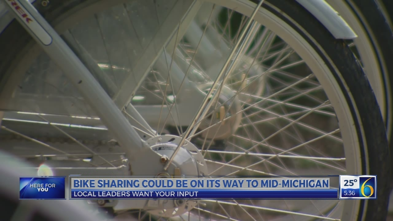 6 News This Morning: proposed bike sharing