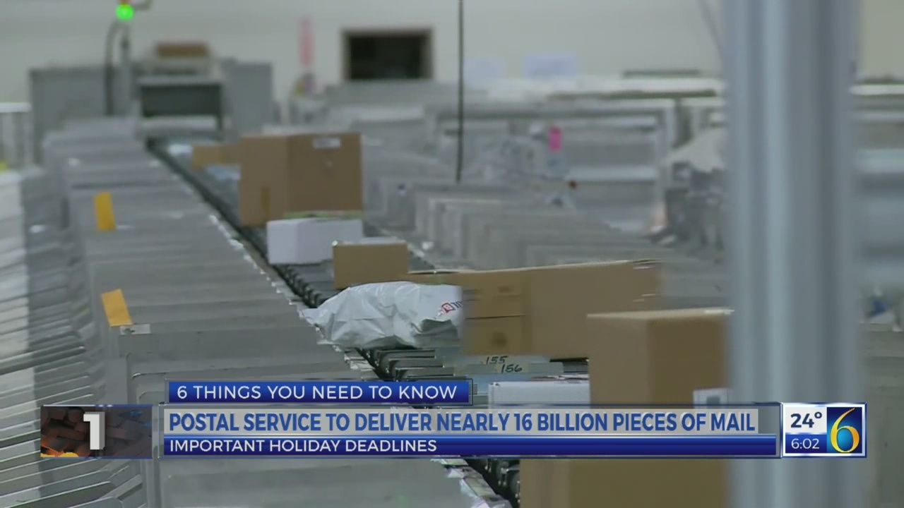 6 News at 5:00 a.m.: post office deadlines