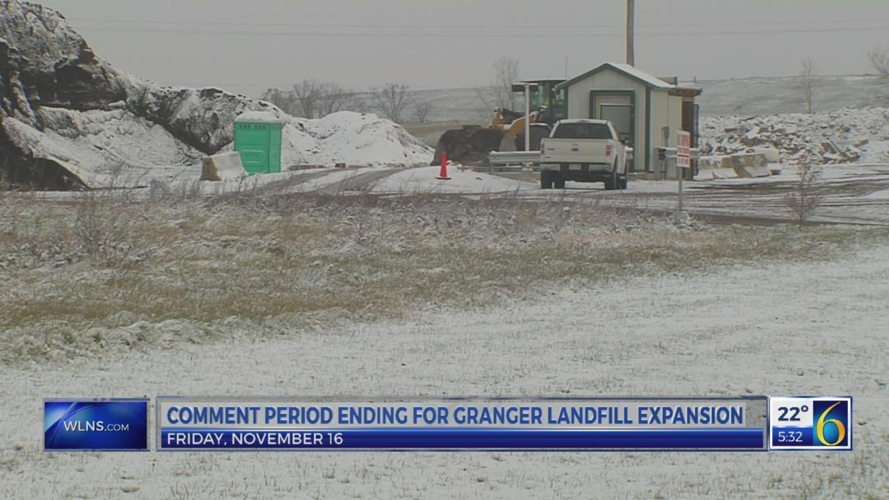 6 News at 5:00 a.m. granger landfill expansion