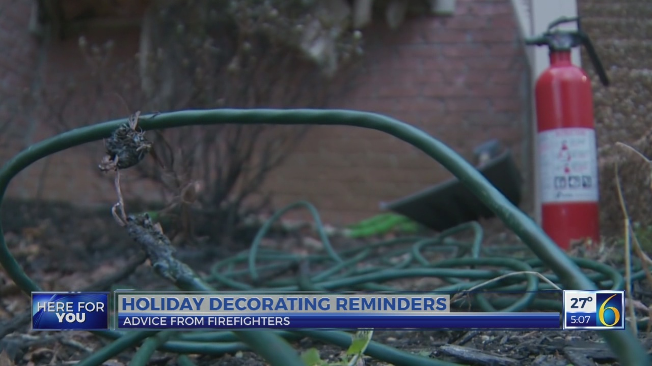 6 News at 5:00 p.m. decorating reminders