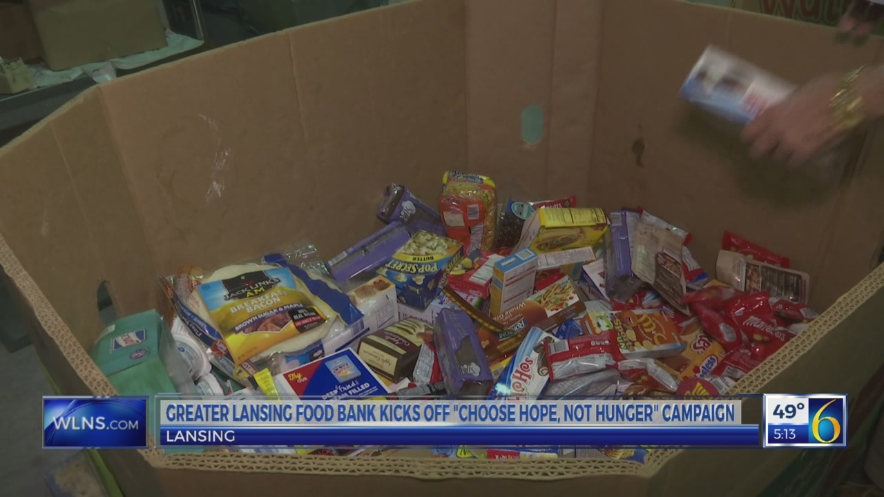 """""""Choose Hope, Not Hunger"""" holiday campaign for GLFB"""