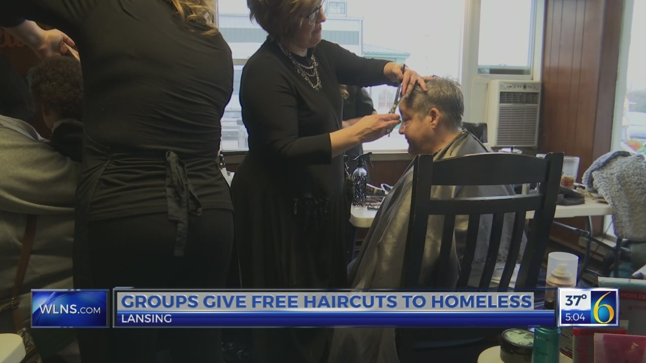 Free haircuts for homeless
