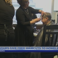 Free haircuts for homeless