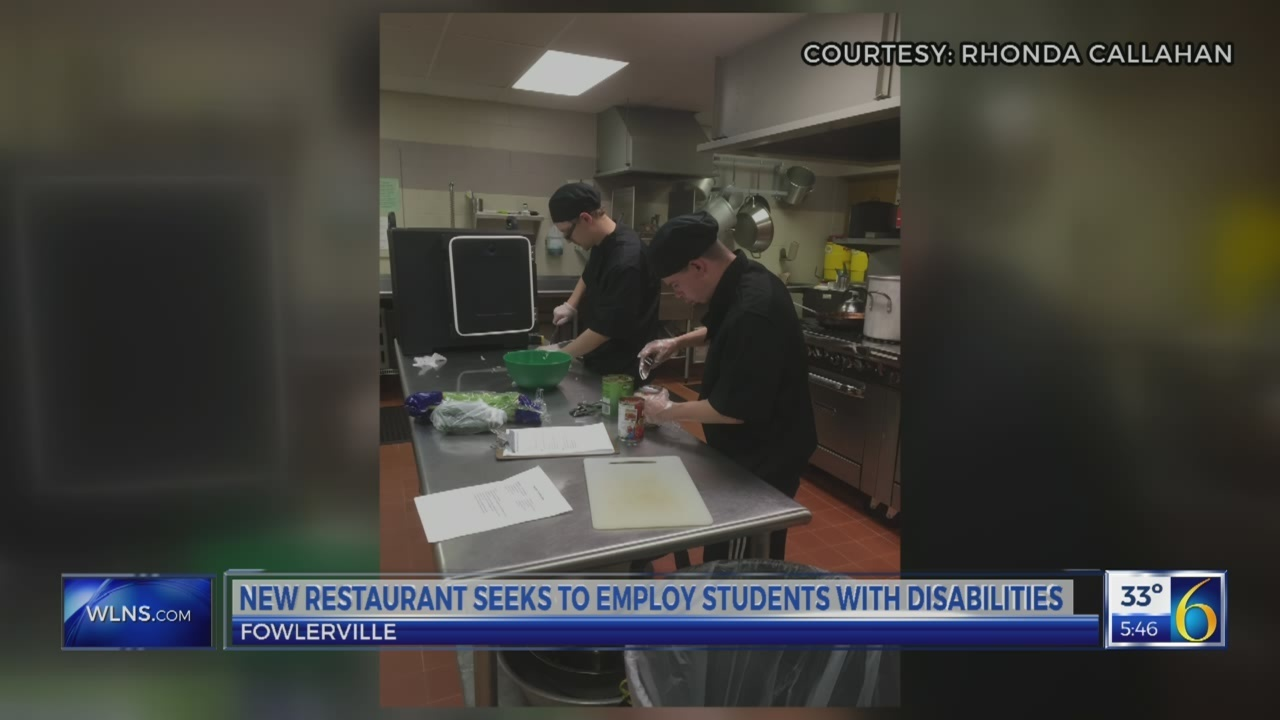 New restaurant for students with disabilities
