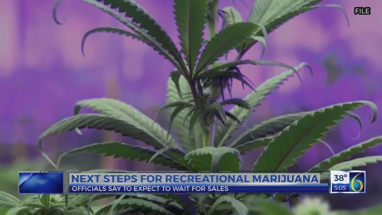 Next steps for recreational marijuana
