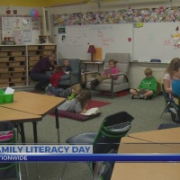 This Morning: Family Literacy Day