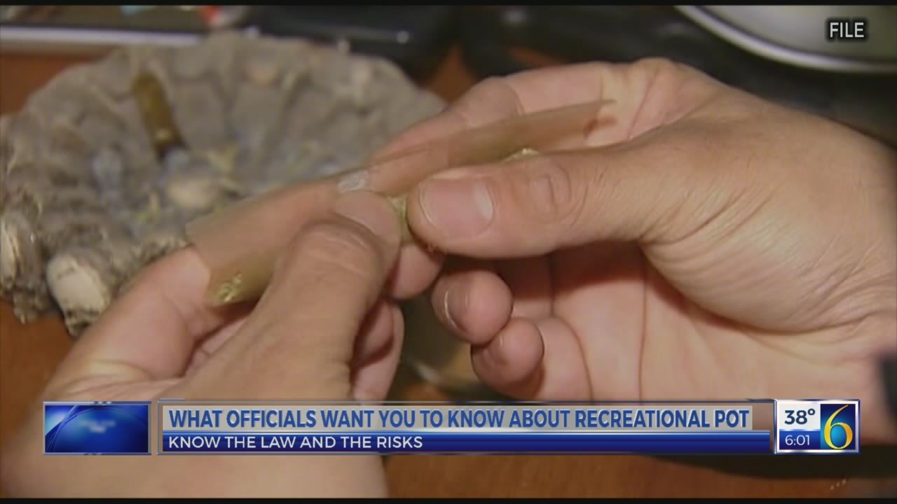 What officials want you to know about recreational pot
