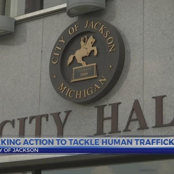 6 News at 5:30: human trafficking posters