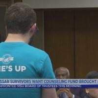 Nassar survivors want healing fund reinstated