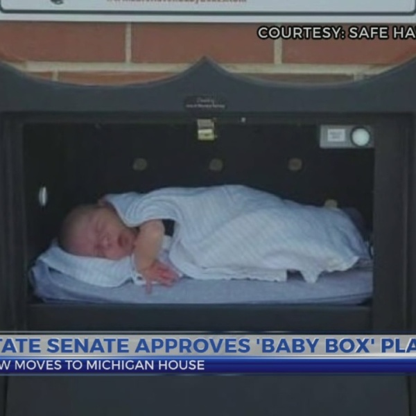 State senate approves 'baby box' plan