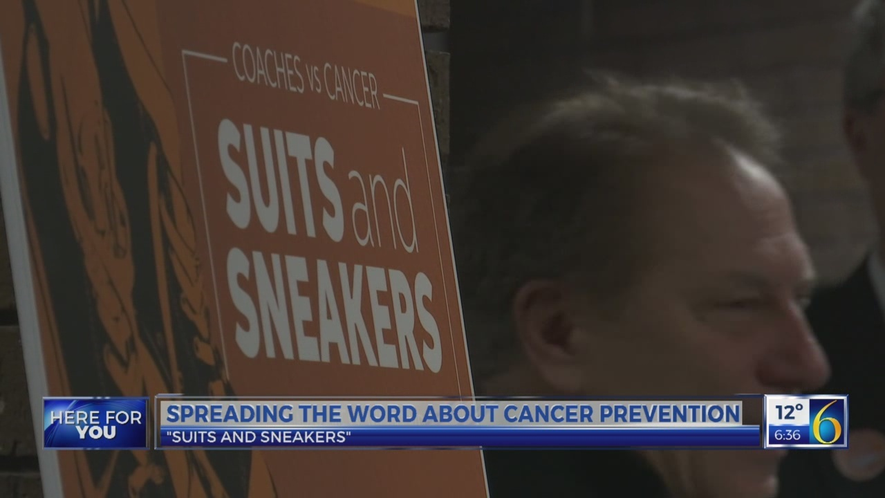 6 News This Morning: suits and sneakers 1