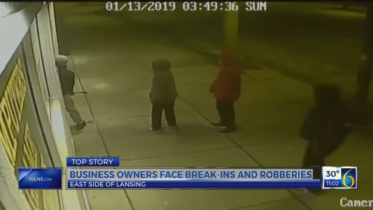 East side break-ins and robberies