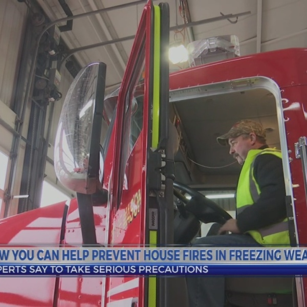 How to prevent house fires in cold weather