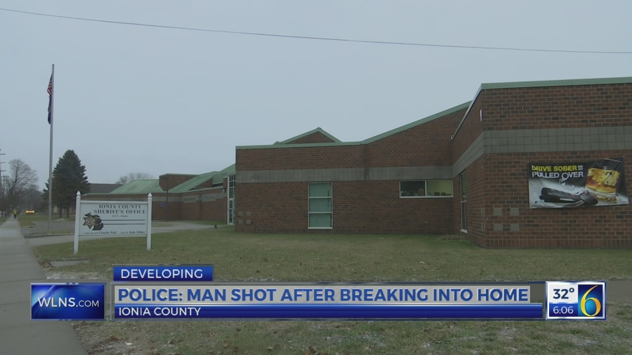 LANSING MAN KILLED AFTER BREAKING IN IONIA HOME