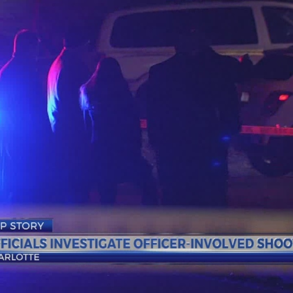 Officials investigate officer-involved shooting